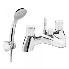 Bristan Choices Bath Shower Mixer Chrome (CHC BSM C) -  (NO TAP HEADS)