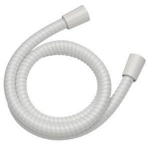 Mira Response RF4 Shower Hose White (1.25m) Brass Connectors - 1.150.57.6.0